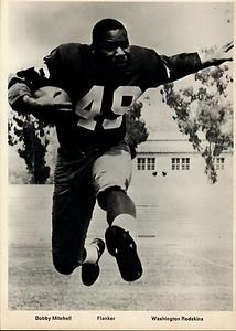 Bobby Mitchell 1960s Redskins Team Issue Photo 5x7