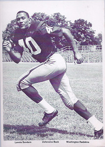 1960s Redskins Team Issue Lonnie Sanders