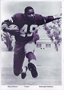 1966 Redskins Team Issue Bobby Mitchell