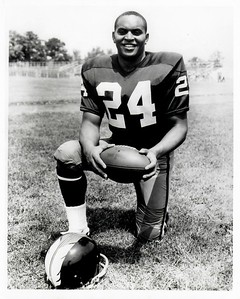 John Sample 1966 Redskins Team Issue Photo