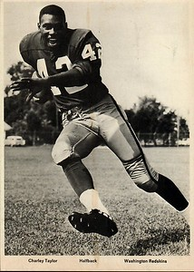 Charley Taylor 1960s Redskins Team Issue Photo 5x7