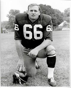 Carl Kammerer 1969 Redskins Team Issue Photo