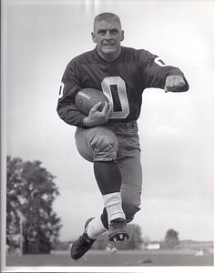 Johnny Olszewski 1960 Redskins Team Issue Photo
