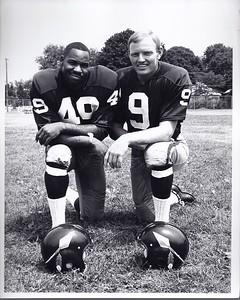 Bobby Mitchell and Sonny Jurgensen Redskins Team Issue Photo