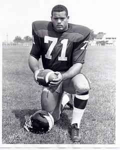 George Seals 1964 Redskins Team Issue Photo