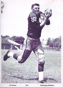 1960s Redskins Team Issue Pat Richter