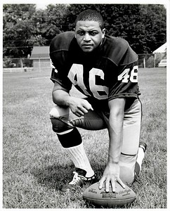 Rickie Harris 1960s Redskins Team Issue Photo