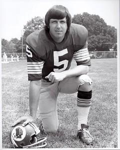 Curt Knight 1973 Redskins Team Issue Photo