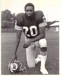 Joe Lavender 1976 Redskins Team Issue Photo