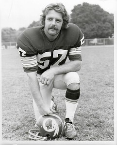 Steve Kiner 1972 Redskins Team Issue Player Photo