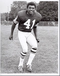 Mike Bass 1972 Redskins Team Issue Photo
