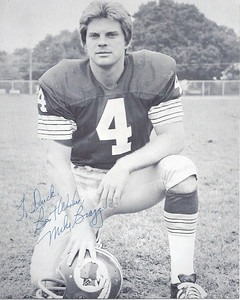 Mike Bragg 1970s Redskins Team Issue