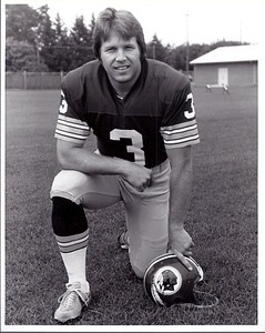 Mark Moseley 1977 Redskins Team Issue Photo