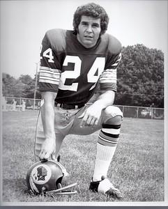 Bill Malinchik 1973 Redskins Team Issue Photo