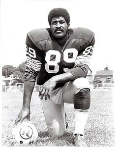 Verlon Biggs 1970 Redskins Team Issue Photo