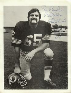 Dave Butz 1970s Redskins Team Issue Photo