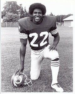 Mike Thomas 1977 Redskins Team Issue Photo