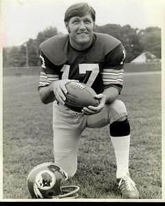 Billy Kilmer 1970s Redskins Team Issue Photo
