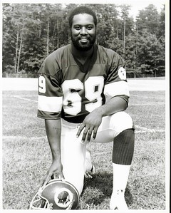 Perry Brooks 1979 Redskins Team Issue Photo