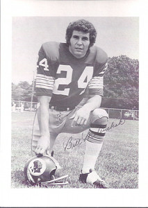 1970s Redskins Team Issue Bill Malinchak