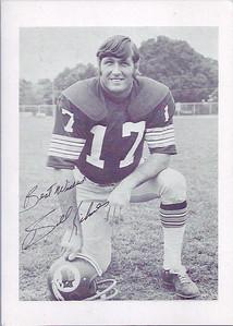Billy Kilmer 1974 Redskins Team Issue