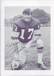 Billy Kilmer 1974 Redskins Team Issue
