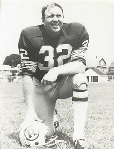 Jack Pardee 1971 Redskins Team Issue Photo