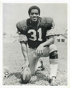 Charlie Harraway 1971 Redskins Team Issue Photo
