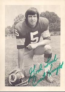 Curt Knight 1970s Redskins Team Issue