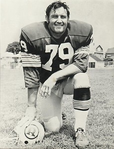 Ron McDole 1971 Redskins Team Issue Photo