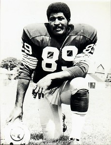 Verlon Biggs 1971 Redskins Team Issue Photo