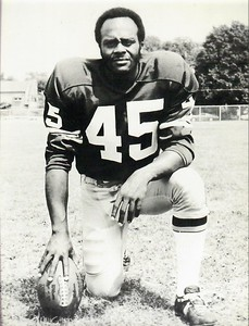 Speedy Duncan 1971 Redskins Team Issue Photo