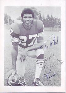 1970s Redskins Team Issue Ken Houston