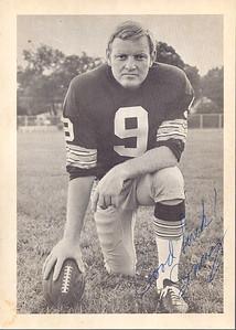 Sonny Jurgensen 1974 Redskins Team Issue