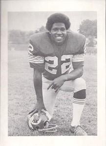 Mike Thomas 1975 Redskins Team Issue Photo