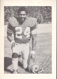 Spencer Thomas 1975 Redskins Team Issue Photo