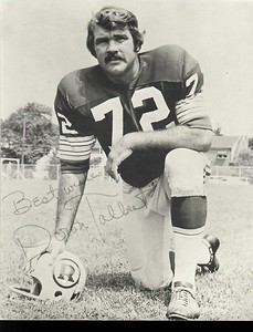 Diron Talbert 1971 Redskins Team Issue Photo