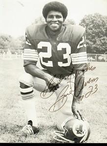 Brig Owens 1970s Redskins Team Issue 5x7
