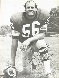 Len Hauss 1972 Redskins Team Issue Photo