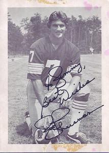 1970s Redskins Team Issue Joe Theismann