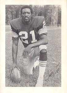 Larry Jones 1974 Redskins Team Issue Photo