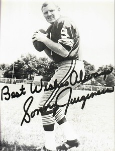 Sonny Jurgensen 1971 Redskins Team Issue Photo