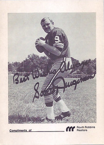 1969 Redskins Team Issue Sonny Jurgensen