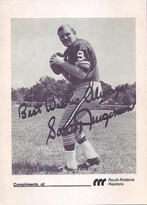 1969 Redskins Team Issue Sonny Jurgensen