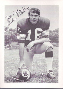 1970s Redskins Team Issue Richie Petitbon