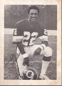 Buddy Hardeman 1979 Redskins Team Issue Photo