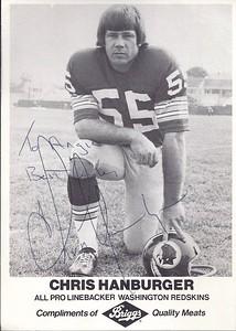 Chris Hanburger 1970s Briggs Meat Promo Photo