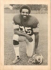 Calvin Hill 1970s Team Issue Photo