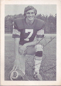 1970s Redskins Team Issue Joe Theismann