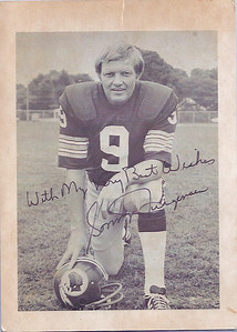 1970s Redskins Team Issue Sonny Jurgensen